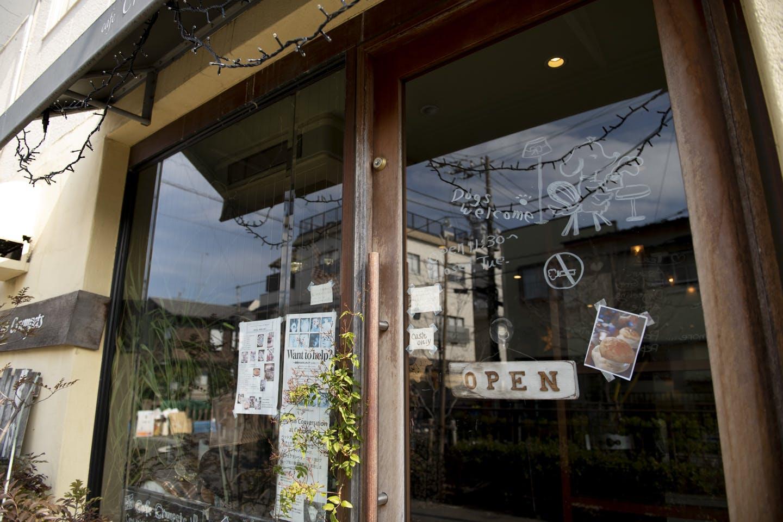 当店は店内OKのカフェ・レストランです