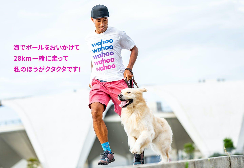 愛犬家の一日《WanScene88》 篠崎さん & むぎ(ゴールデンレトリーバー)