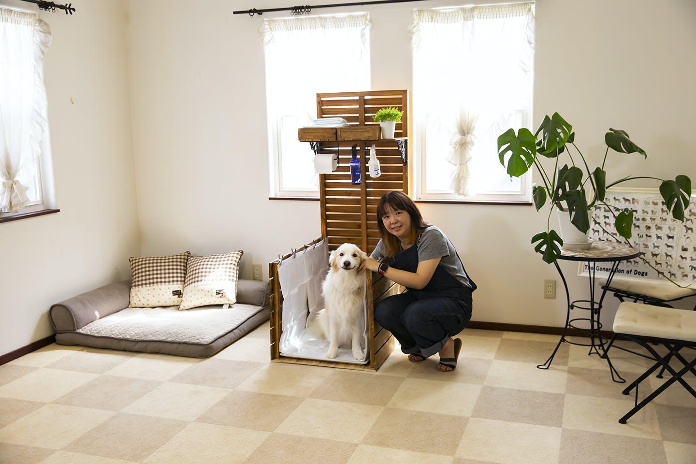 Dog & DIY 大型犬専用「インテリアドッグトイレ」を作ろう!