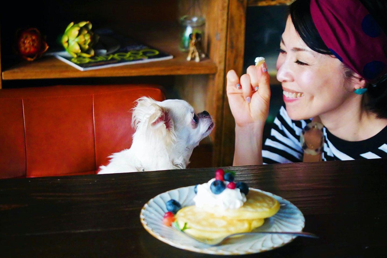 水野さんと愛犬