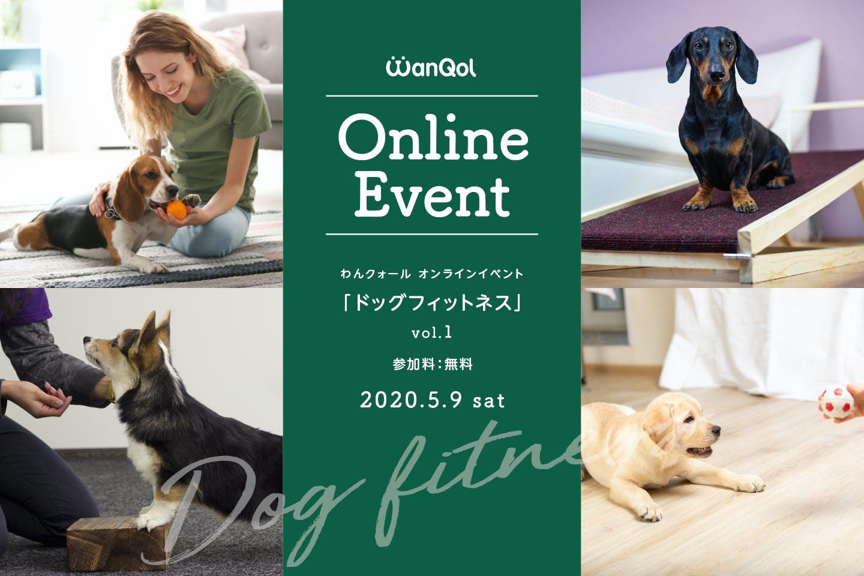 【5/9オンラインドッグフィットネス開催】(無料)わんちゃんのコンディションを整えましょう