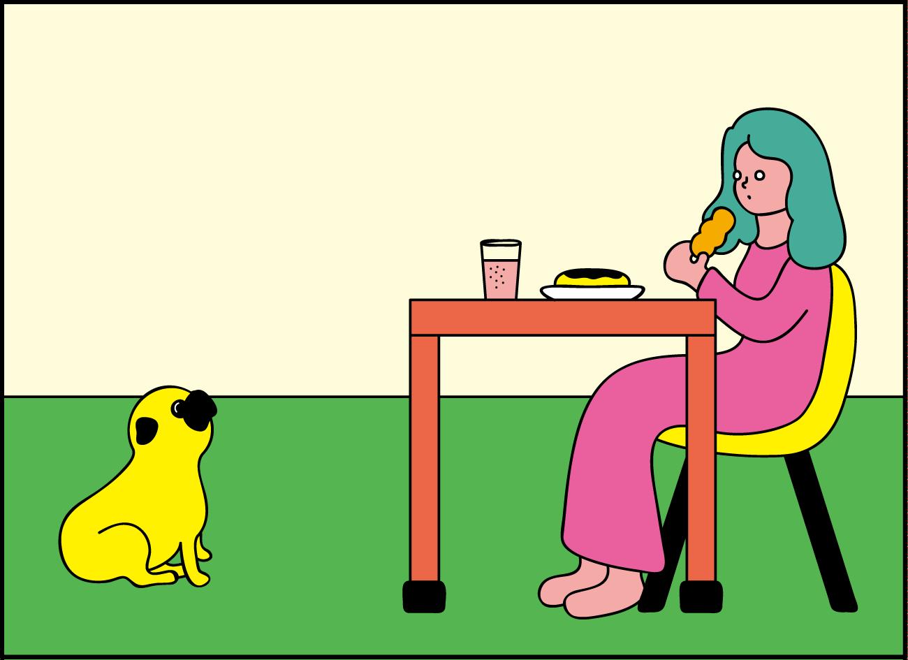 【パグとわたし】ポンデパグ