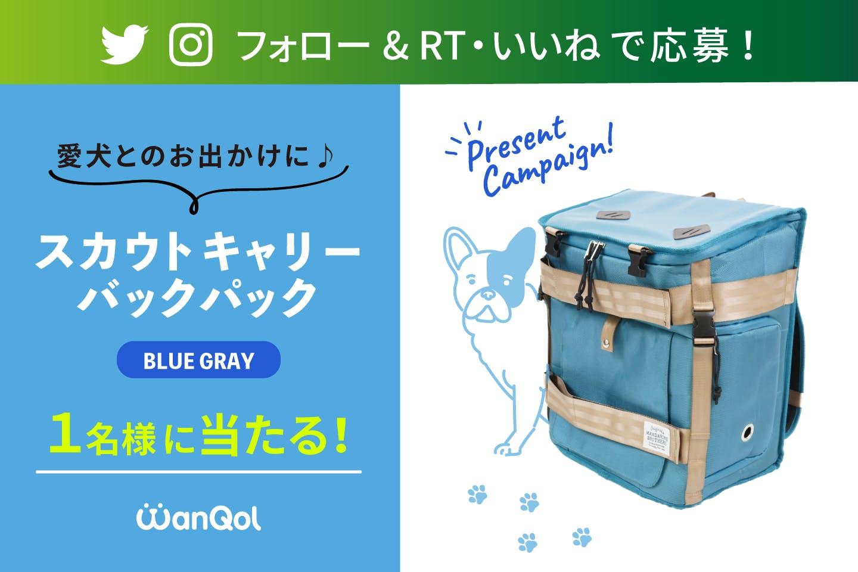 【プレゼントキャンペーン】Twitter or Instagram スカウトキャリーバックパックをゲットしよう!