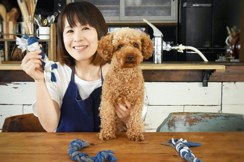 【製作時間15分】Tシャツで「愛犬用ロープおもちゃ」を作ろう!《はじめてのワンコDIY》