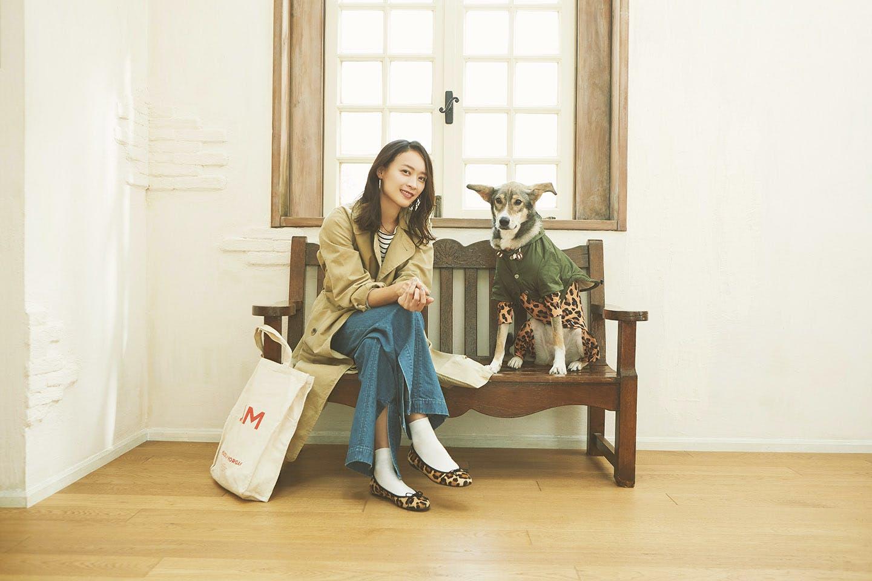 愛犬とリンクコーデでオシャレしよう! 〜カフェ服〜