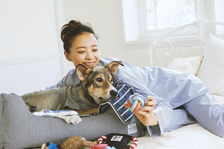 愛犬とリンクコーデでオシャレしよう! 部屋着でリラックス