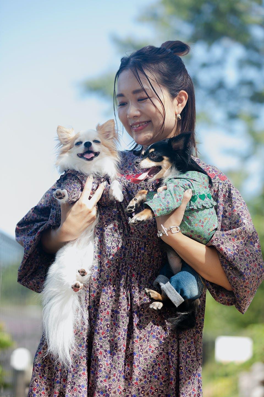 中原さんと愛犬