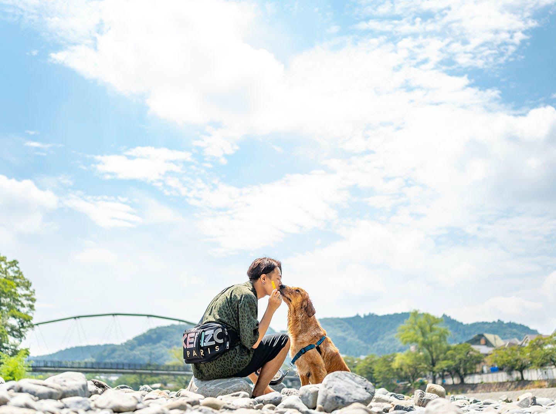 【青梅】愛犬と一緒に都内で川遊びしよう!帰りにシャンプーも♪