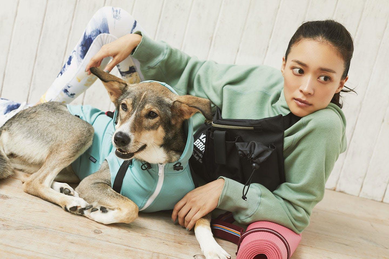 愛犬とリンクコーデでオシャレしよう! スポーツ服 ヨガ