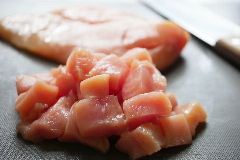 「ミートケーキ」 手軽におうちハロウィン 愛犬手作りごはんレシピ 鶏肉