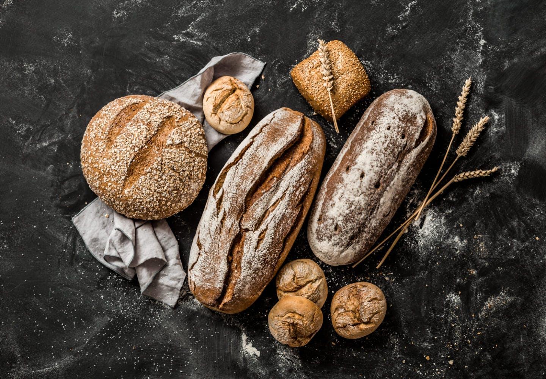 いくつかのパン