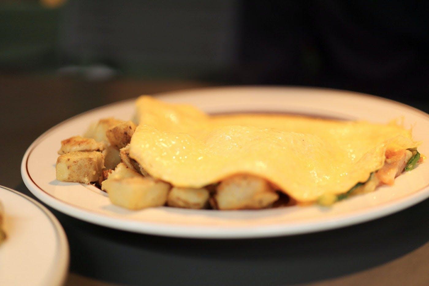 Eggs Thingsオムレツ