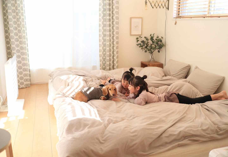 【インテリアのプロ直伝】愛犬と一緒の寝室を快適な空間に変えるための5つの小さな工夫《わんこと暮らすアイディア》