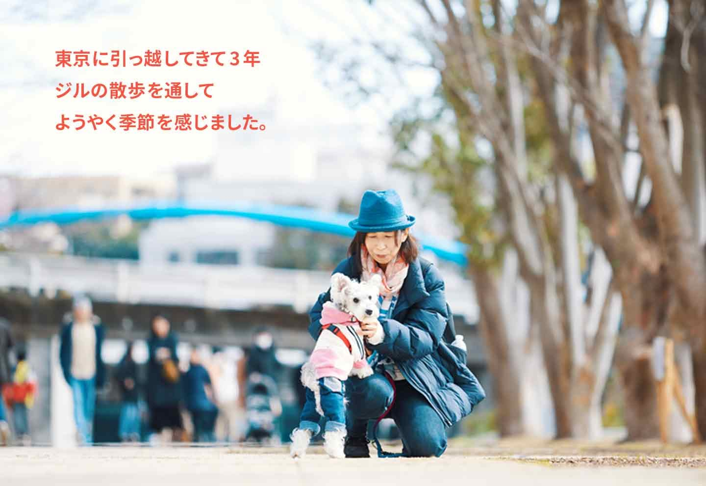 愛犬家の一日《WanScene105》リカさん&ジル(ミニチュアシュナウザー )