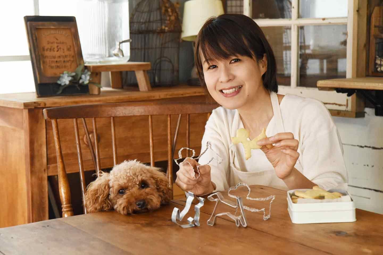 犬 クッキーの型の作り方 DIY chiko