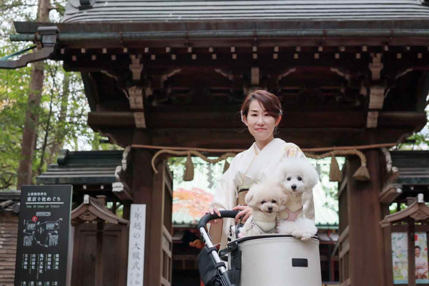 hiromiさんと愛犬