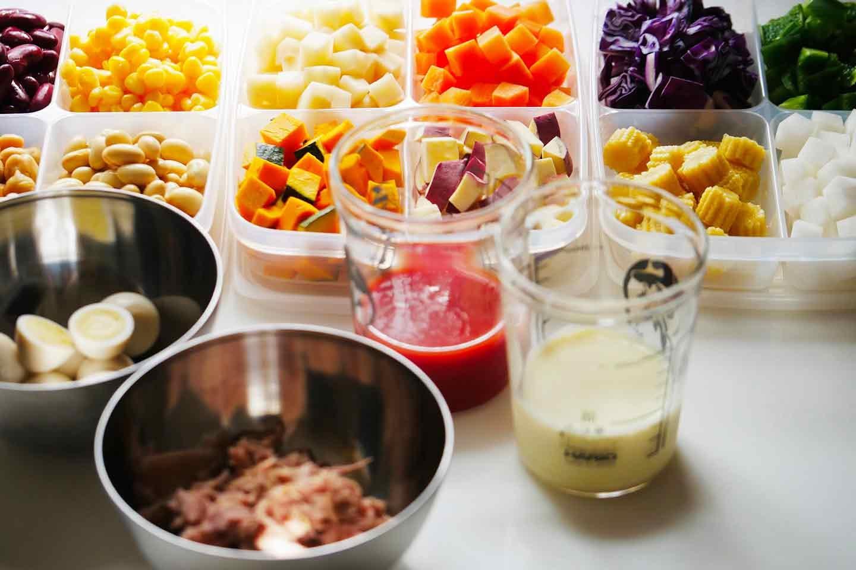 愛犬 時短レンチン野菜スープごはん 作り置き
