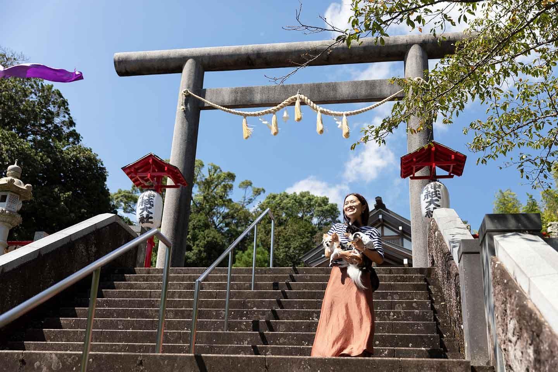 【伊豆】愛犬とお参りできる神社に行こう!可愛いお守りも♪