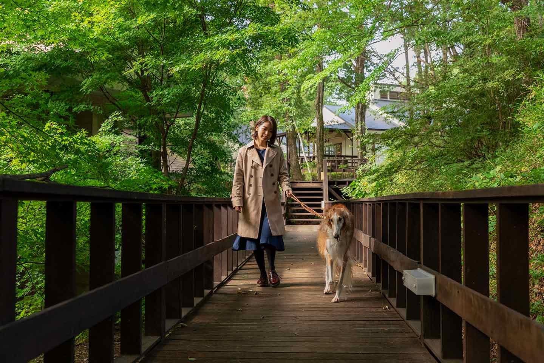 那須フォレストヒルズ 体験レポート 自然に囲まれた施設を犬と歩く