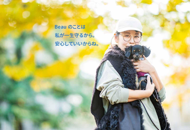 愛犬家の一日《WanScene107》ボーママさん&Beau(チワワ×ダックスフンド )