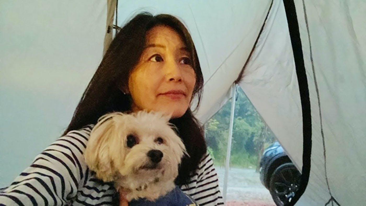 五月女さんと愛犬