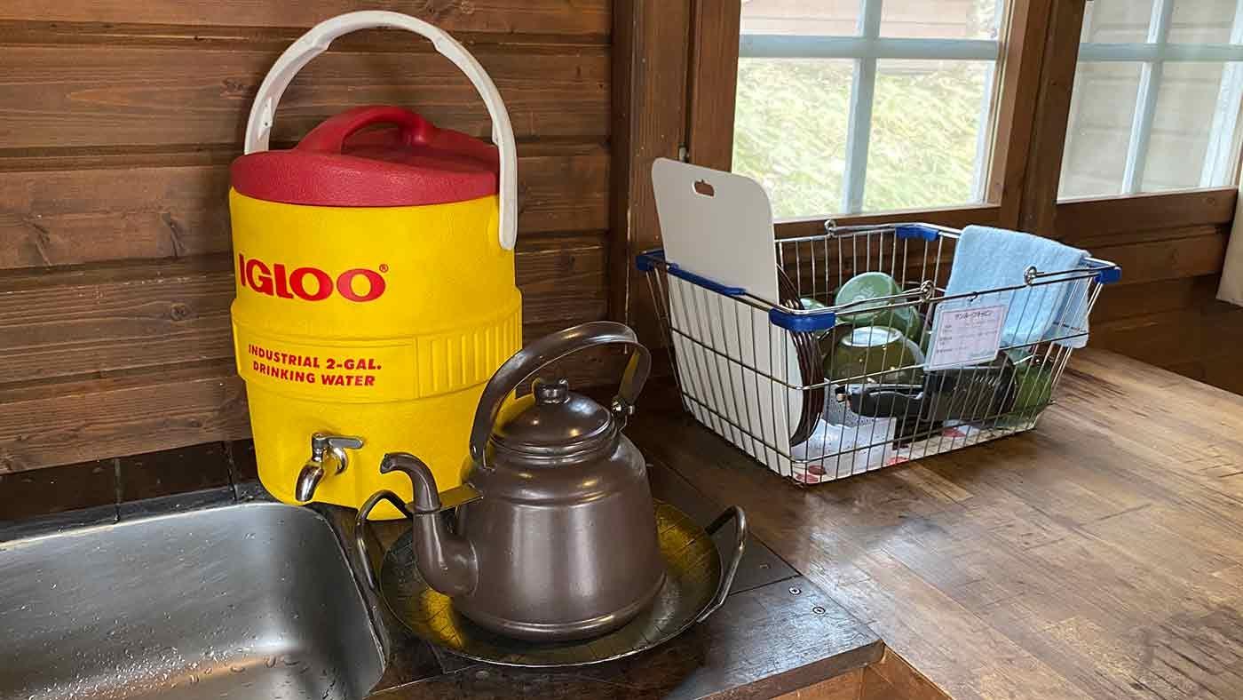 愛犬とクリスマスキャンプ キャビンの設備