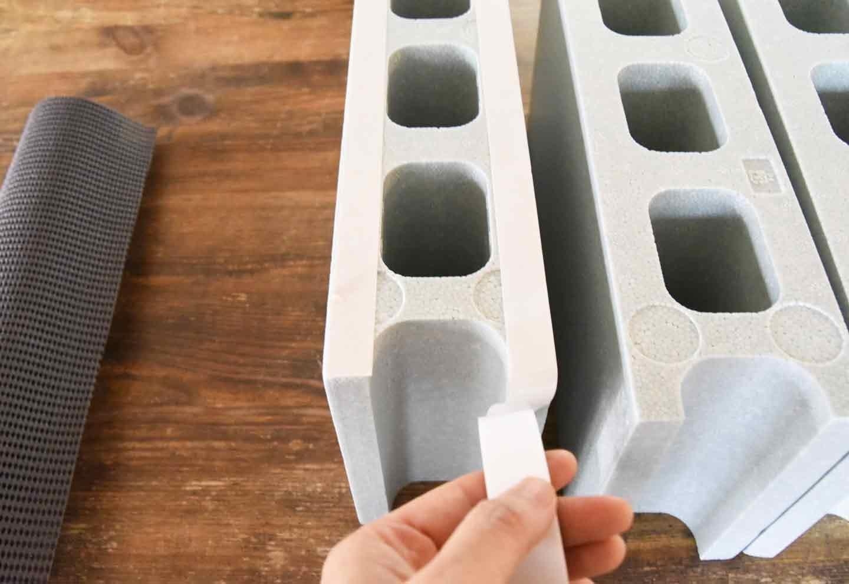 15分DIY 100均ブロックのお手軽ステップ 組み立てる