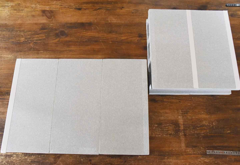 15分DIY 100均ブロックのお手軽ステップ 2段のブロックをくっつける