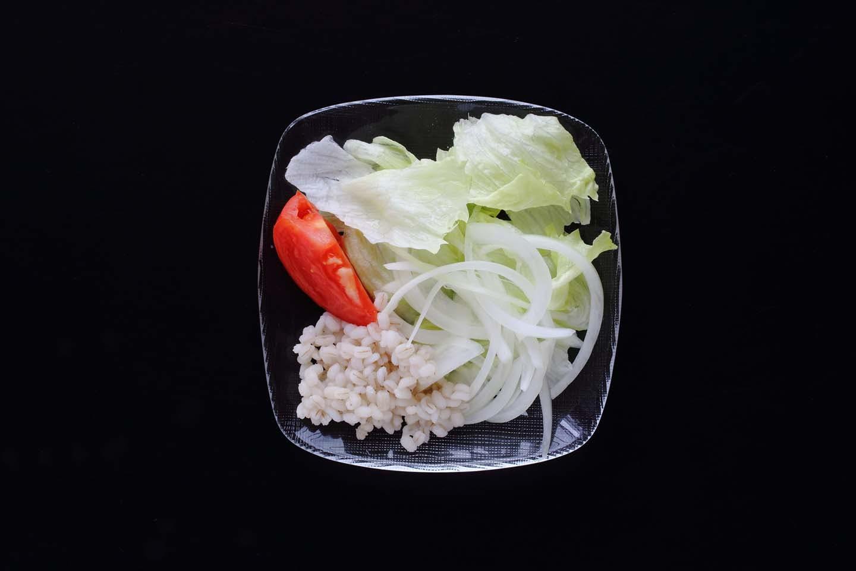 コンビニのレタスサラダ