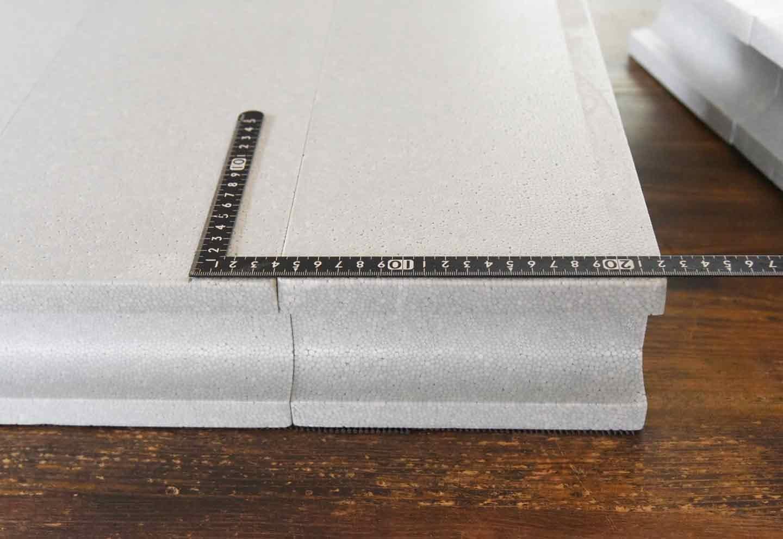 15分DIY 100均ブロックのお手軽ステップ 印をつける