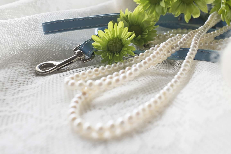 数珠とリード