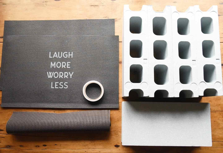 15分DIY 100均ブロックのお手軽ステップ 材料
