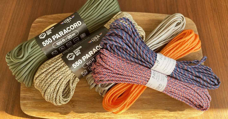 キャンパー パラコード編みの手作り首輪 ロープ