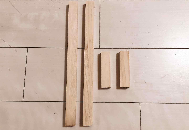手作り愛犬用ソファー DIY  木材をカット