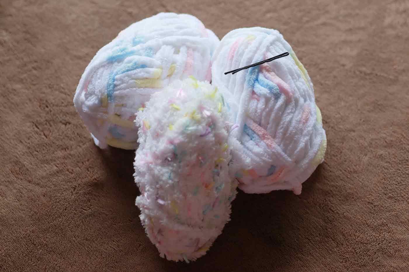 愛犬用指編みマフラー 手作り 材料
