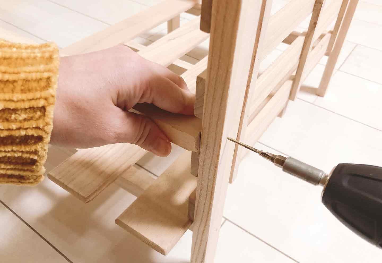手作り愛犬用ソファー DIY  肘掛けをつける