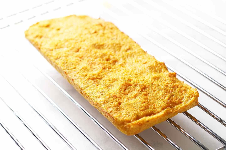 愛犬手作り健康ごはん にんじんケーキ 作り方 焼き上がり