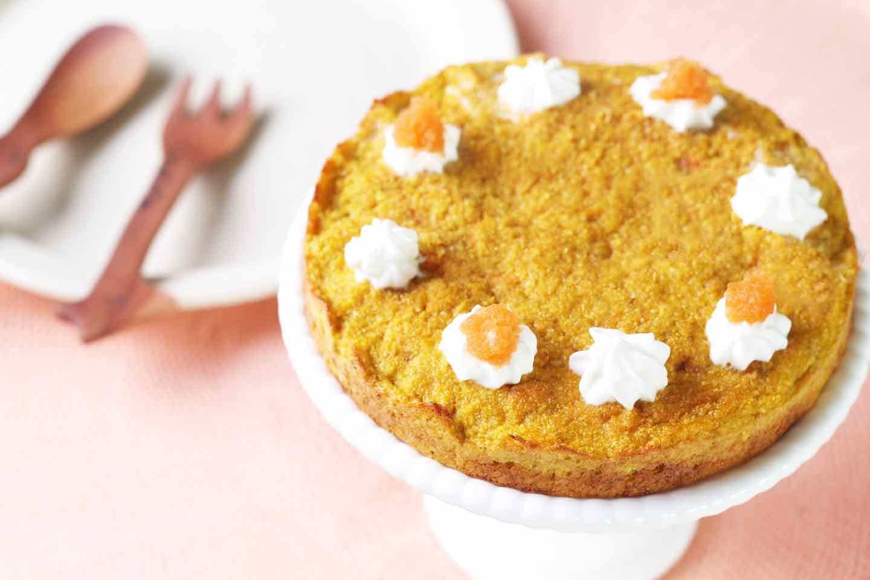 愛犬手作り健康ごはん にんじんケーキ 作り方 誕生日 記念日