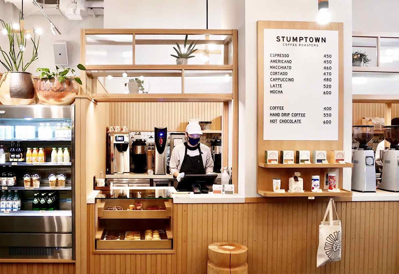 エースホテル京都 米ポートランド発 コーヒーショップ「スタンプタウン・コーヒー・ロースターズ(STUMPTOWN COFFEE ROASTERS )」