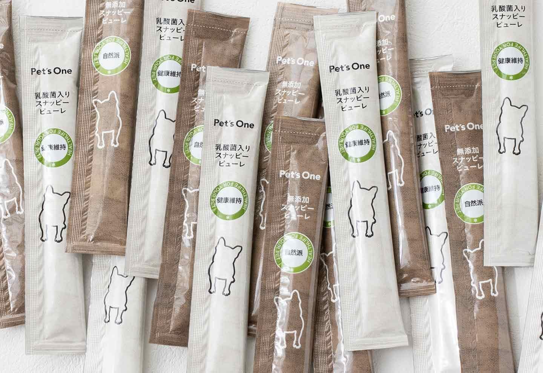 簡単犬用キューブアイス 材料 Pet's Oneのスナッピーピューレ