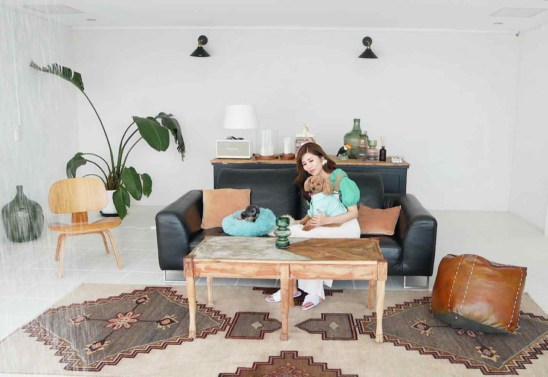 愛犬と泊まれる『THE HOUSE Koajiro』 「The shower living suite」 内観