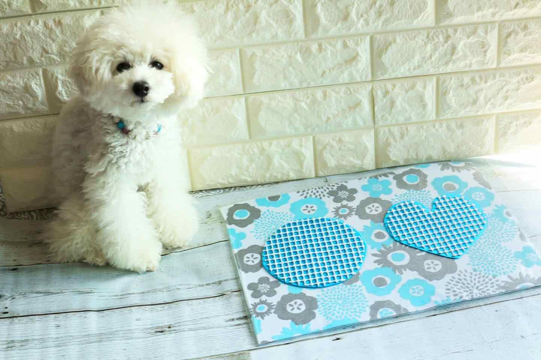 防水仕様の愛犬用ランチョンマットの作り方 さらに滑り止めを貼る