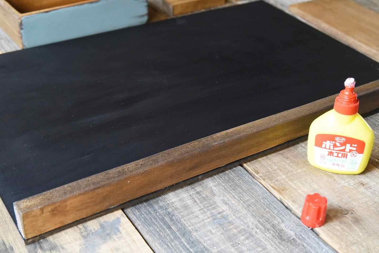 愛犬用「収納つき手作り連絡ボード」の作り方 木材を組み立て