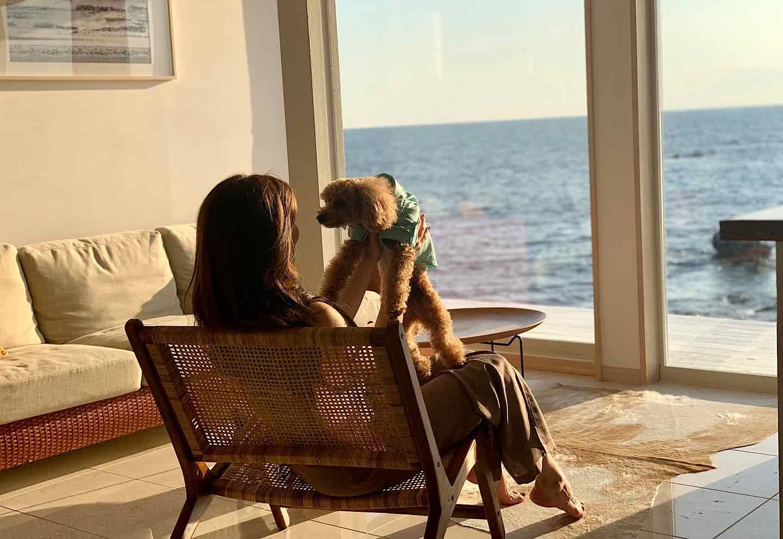 愛犬と泊まれる『THE HOUSE Moroiso secret beach』 体験レポ
