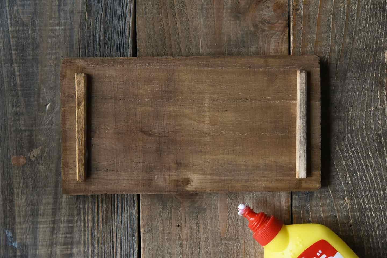 愛犬用「収納つき手作り連絡ボード」の作り方 箱の蓋を作る