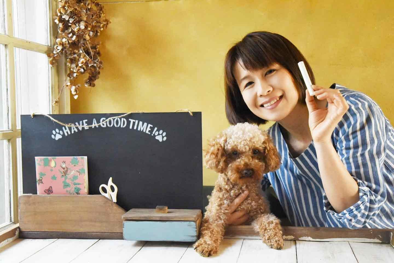 愛犬用「収納つき手作り連絡ボード」の使い方 健康管理