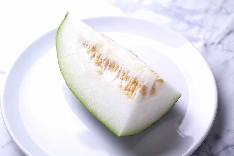 具沢山コーンスープで使用した冬瓜の効能
