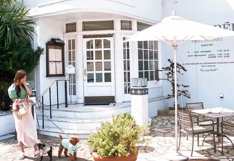 【葉山】フランス風なのに愛犬と地元の食材もいただける♪ 『レストラン ラ・マーレ』 テラス席