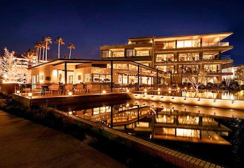 『MALIBU HOTEL』 ホテル併設レストラン『リストランテAO』