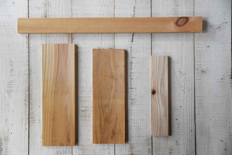 「わんこがいます!」看板 DIY の材料